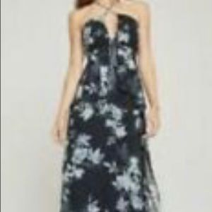 BCBGmaxazria Long Flrsl Gown